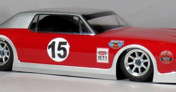 Standard 1/10 Clear RC car body 1968 Cougar Trans Am VTA