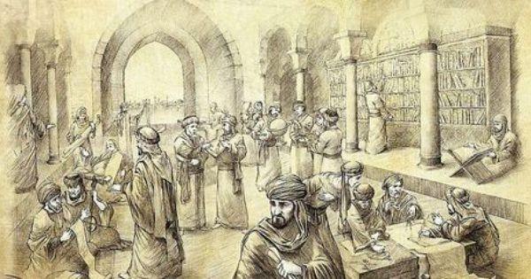 بيت الحكمة كانت مؤسسة علمية في العراق وهي أحد المؤسسات التي تدعي لقب أول جامعة في التاريخ أنشئت في عصر الخليفة العباسي هارون الرشيد وابنه عبد الله المأمون و
