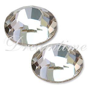 Swarovski 2000 Rhinestones Flatback 12ss Crystal Swarovski Crystals Rose Flats