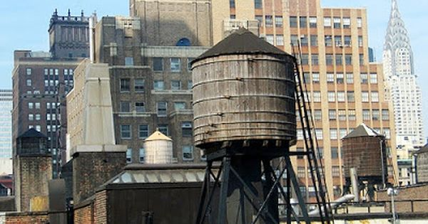 Fogonazos New York Rooftop Water Tanks New York Rooftop Water