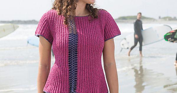 Crochet Newport Stitch Pattern : Ravelry: Newport pattern by Jennifer Crowley Sweaters: Miscellaneous ...