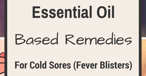 how to stop fever blister from forming sore