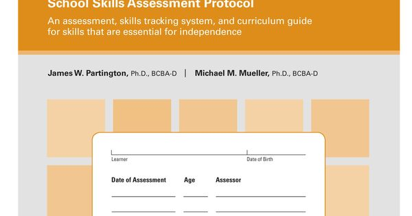 AFLS Protocol School Skills Transitions Pinterest Homeschool - skills assessment template