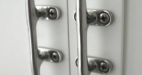 Nautical Hardware 7 Cleats For Home Use Door Handles