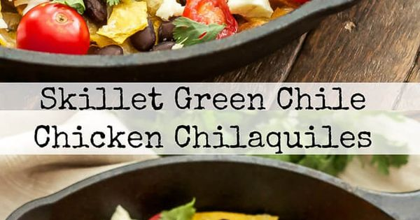 Chile, Skillets and Corn tortillas on Pinterest