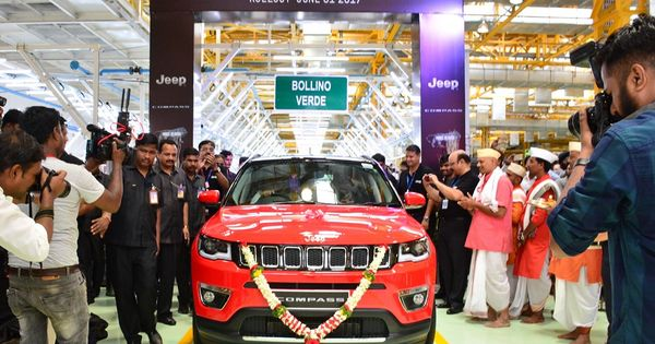 Jeep Compass Production Commences Launch In August Jeep Compass