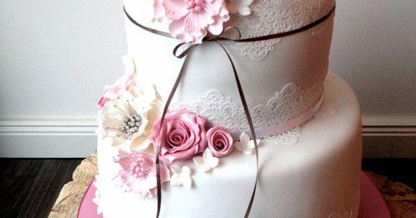 Hochzeitstorte im Vintage Stil  Hochzeitstorten  Pinterest  Boda ...