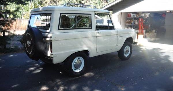 Classic 1967 Ford Bronco For Sale Uncut And In Original Condition