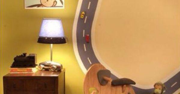 Magneetverf en magneetjes onder de auto 39 s leuke wanddecoratie voor een jongens kamer dax - Kamer onder de helling ...