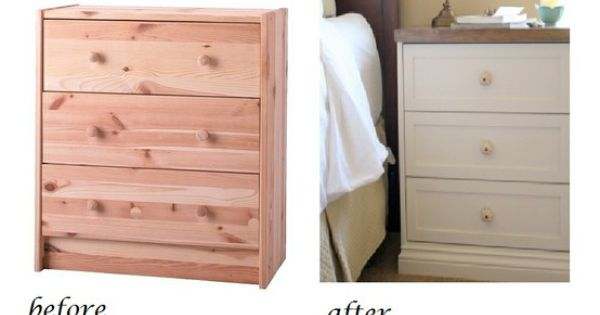 Ikea RAST hack. Love this! Turning a $35 Ikea dresser into a
