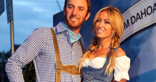 Dustin Johnson and Paulina Gretzky | Golf | Pinterest ...