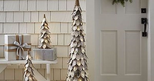 Tree Stands Skirts and Storage 166726 Pottery Barn Lit Birch Tree