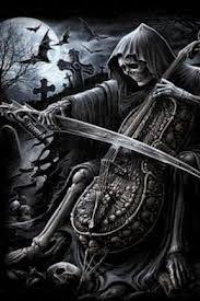 Grim Reaper Wallpaper Hd Imagenes De Santa Muerte Arte
