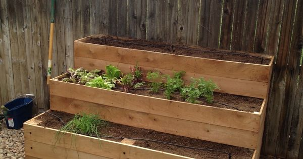 cedar raised garden beds 3 tiers do it yourself home projects from