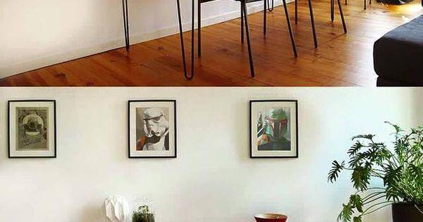 bureau pour deux personnes r alis avec une planche en. Black Bedroom Furniture Sets. Home Design Ideas