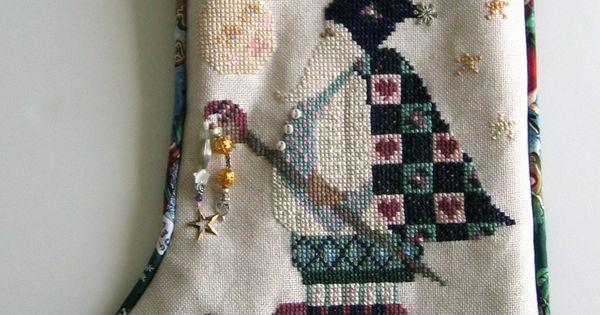 Counted Cross Stitch Christmas Tree Skirts