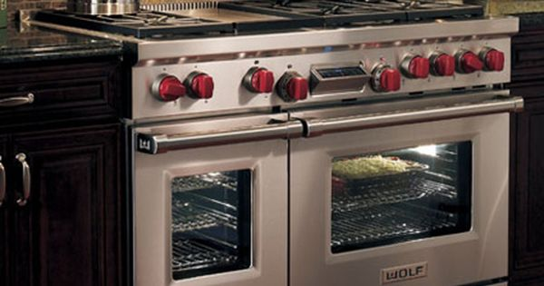 Wolf 48 6 Burner Free Standing Dual Fuel Range With Convection Oven Stainless Steel Pcrichard Com Df486glp Dual Fuel Ranges Cooking Range Kitchen Installation