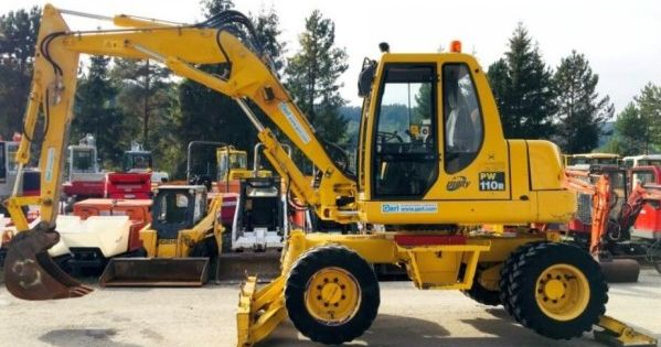 Komatsu Pw110r 1 Hydraulic Excavator Service Repair Manual Sn 2260000282 And Up In 2020 Hydraulic Excavator Repair Manuals Repair
