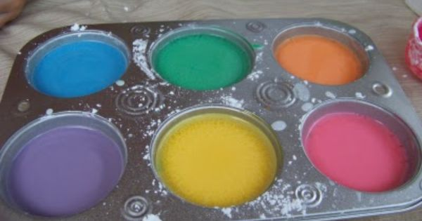 Party Sidewalk paint chalk for the kids DIY Kids Fun Ideas