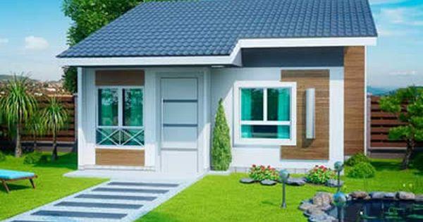 Plantas de casas pequenas e bonitas modelos gr tis for Arquitectura moderna casas pequenas