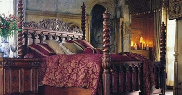 Selena S French Cottage Gothic Naturalist Steampunk Shoppe Discontinued Broyhill Vintage World Juno Pilaster Bed Broyhill Gorgeous Bed Awesome Bedrooms