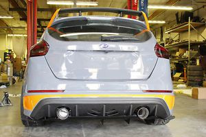 Pre Order Ford Focus Rs Mk3 Non Aggressive Rear Diffuser Velox Motorsports Ford Focus Ford Focus Rs Focus Rs