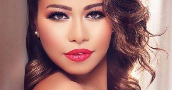 Makeup Style: Sherine Abdel-Wahab in golden tan skin ...