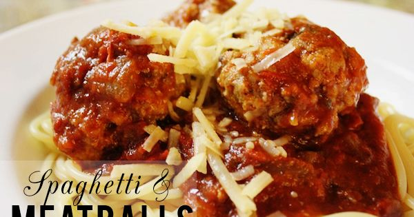 Spaghetti and Meatballs | Recipe | Spaghetti And Meatballs, Spaghetti ...