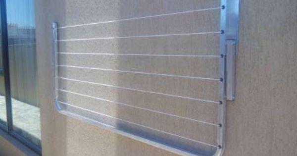 Washing Line Aluminum Wall Mounted Fold Away Krugersdorp