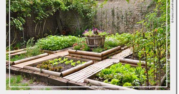 Le potager en carr s d 39 andr eve un exemple de potager en for Site de jardinage