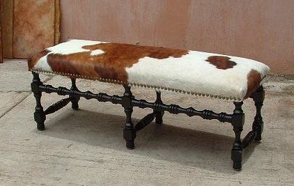 Luna Rustica Seating Cowhide Decor Ranch House Decor Western Furniture