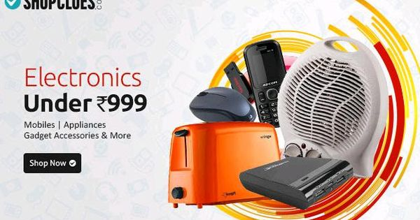 Shopclues coupons for electronics