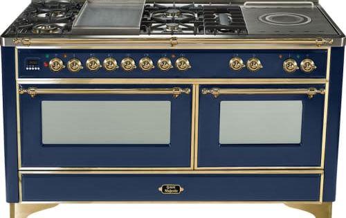 Ilve Majestic Collection Um150sdmp Black Ovens Oven Racks