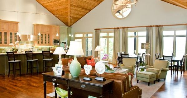 Pinterest Lake House Decorating Interiors And Wood Ceilings