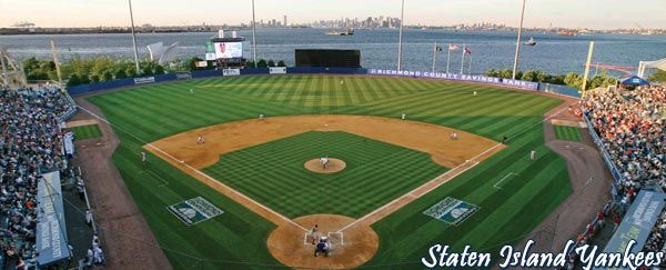 Richmond County Bank Ballpark Staten Island Yankees Ballpark Richmond County Staten Island Yankees Baseball