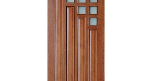 Puerta dubai madera cedrillo 203x91 cm puertas exterior for Puerta exterior 120 cm