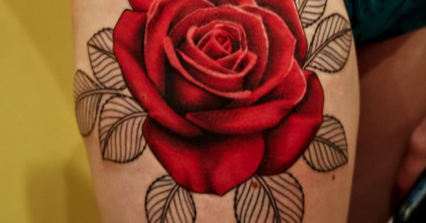 red rose tattoo | 26 Great Tattoo Ideas Which Are Famous As