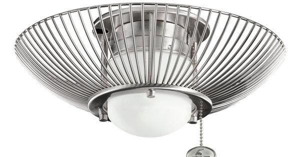 kichler lighting 380114 ribbed wire ceiling fan light kit atg rh pinterest com
