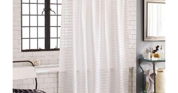 Nate Berkus™ Textured Shower Curtain