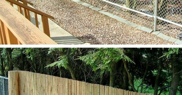 Want To Add Bamboo To My Existing Chain Link For Added