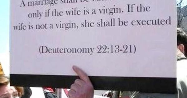 Atheists Can Quote The Bible, Too.
