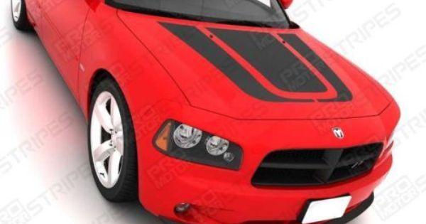 2006 07 08 09 2010 Dodge Charger Hood Decal CUSTOM!!!