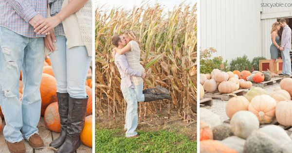 fall engagement pictures. Perfect for a fall wedding