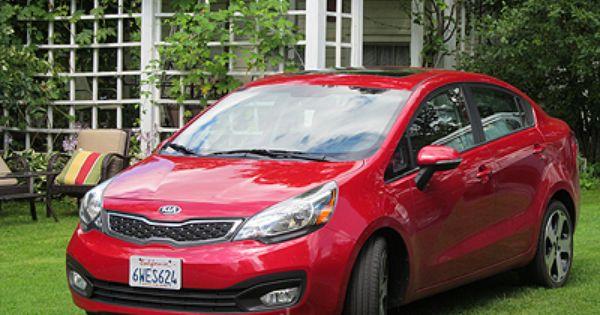 2013 Kia Rio Sx Sedan Review Kia Rio Kia Rio