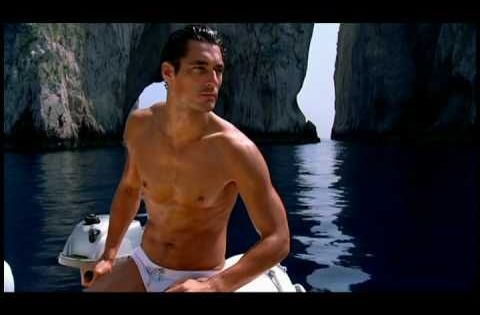 Video David Gandy S Premier Light Blue Ad 2007 With Maria
