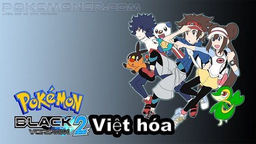 Pokemon Black 2 Việt Hóa Black Pokemon Pokémon Black And White Pokemon