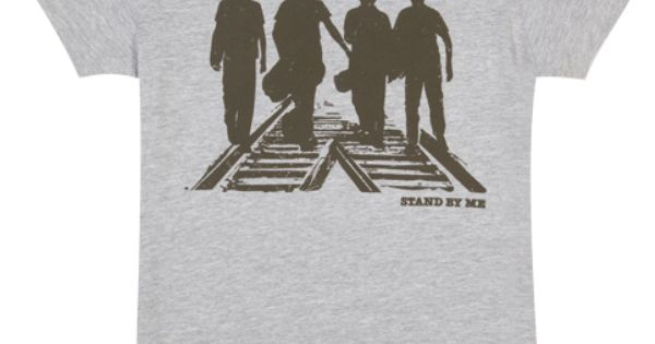 Stand By Me Inspired Movie Film 80s 90s Comedy Mens Classic T Shirt