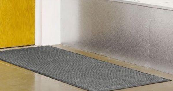 4 X 8 Medium Gray Waterhog Carpet Mat By Waterhog 177 00 Waterhog Soak Up Snow Water And Ice Quickly With Images Carpet Mat Outdoor Gardens Waterhog Mat