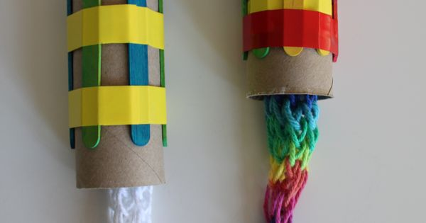 Cheap Craft Ideas for Kids - Knitting Nancies - Click Pic for