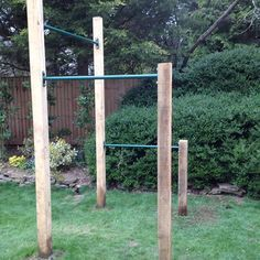 Outdoor Fitness Equipment Simple And
